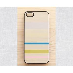 Obal na iPhone 4/4S, Minimalist stripes&woods/black