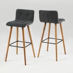 Barová židle Frida, šedá
