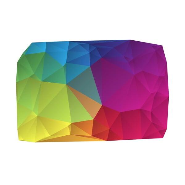 Koberec z vinylu Origami Multicolor, 70x100 cm