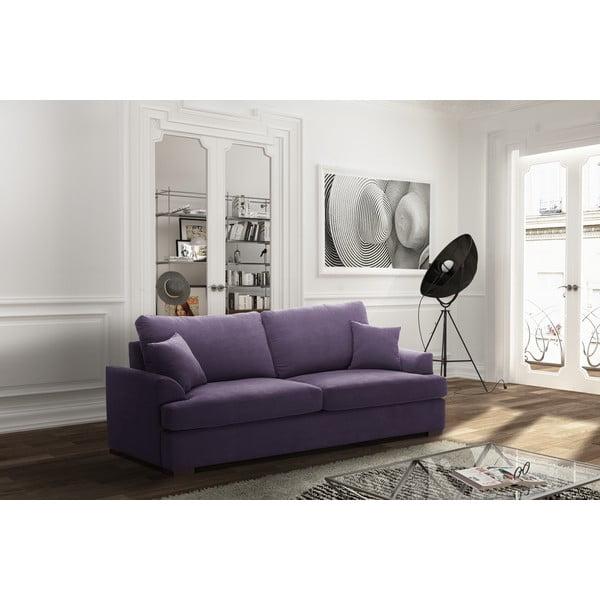 Třímístná pohovka Jalouse Maison Irina, fialová