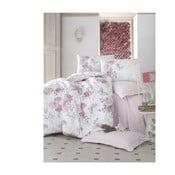 Set lenjerie de pat din bumbac pentru pat dublu Ranforce Rosell 200 x 220 cm