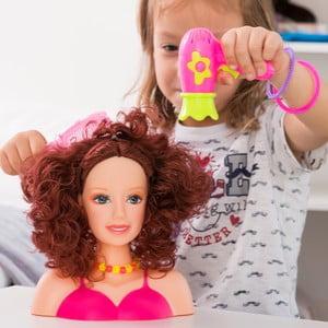 Dětská česací pana s doplňky InnovaGoods Doll For Hairstyling