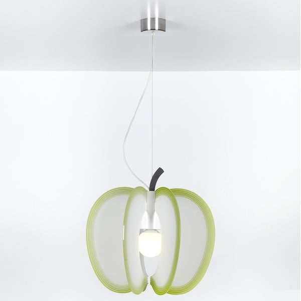 Závěsné svítidlo Mela Emporium, zelené