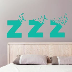 Samolepka na stěnu Sleeps Birds, 70x50 cm
