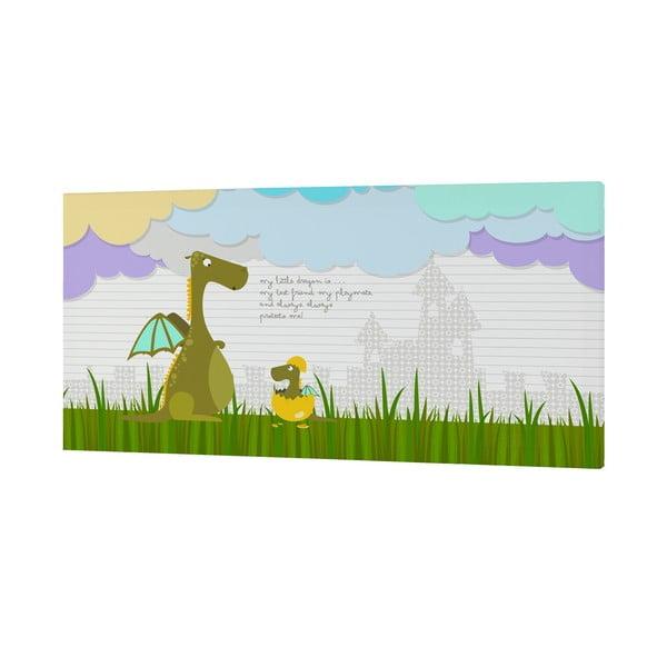 Nástěnný obrázek Dragon Art, 27x54 cm