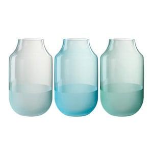 Set 3 vaze J-Line Evergreen, 18 x 30 cm