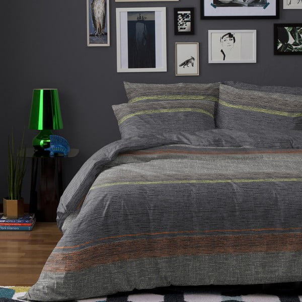 Povlečení Norval Grey, 200x200 cm