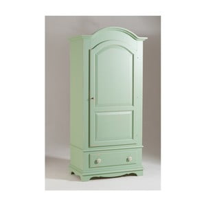 Zelená dřevěná šatní skříň Castagnetti Verde
