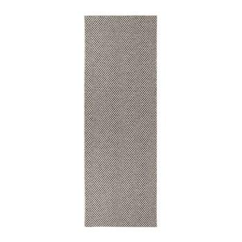 Covor adecvat și pentru exterior Narma Diby, 70 x 300 cm, crem - negru imagine