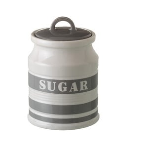 Šedá dóza na cukr Unimasa