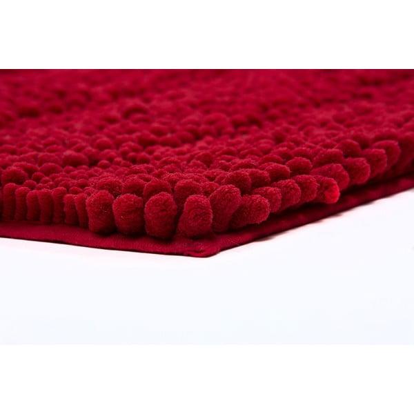 Koupelnová předložka Surface Bordeaux, 65x110 cm