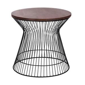 Odkládací stolek Hourglass Brown