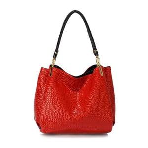 Červená kabelka L&S Bags Reign