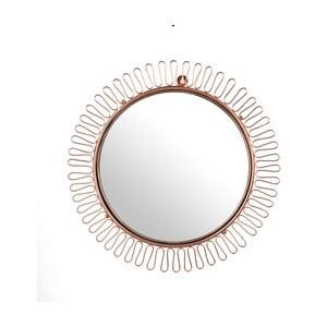 Oglindă Polst Potten Sunshine, Ø 60 cm, arămiu