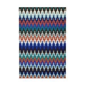 Ručně vázaný koberec Bakero Olga Multi, 180x120cm