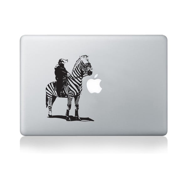 """Samolepka na notebook 13"""" Zebra Police Officer by Banksy"""