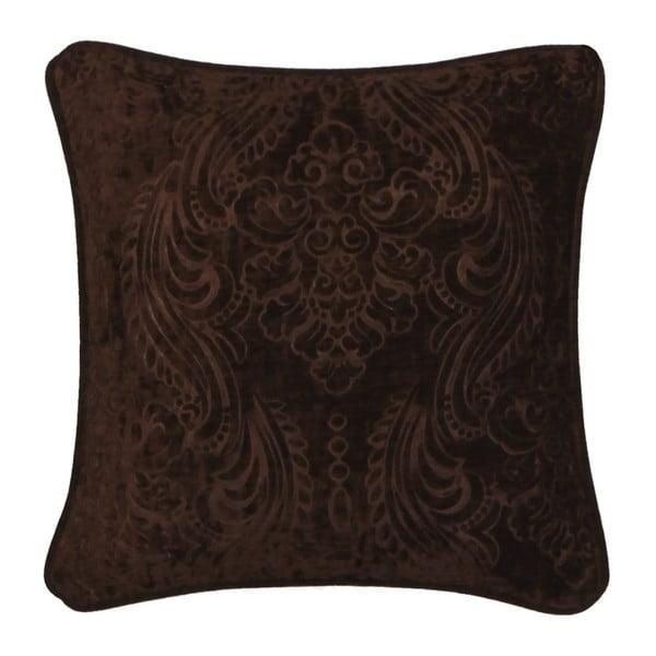 Tmavě hnědý povlak na polštář Kate Louise Exclusive Ranejo, 45 x 45 cm