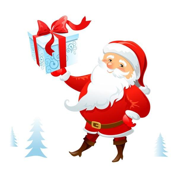 Naklejka świąteczna Ambiance Santa Claus Lapland