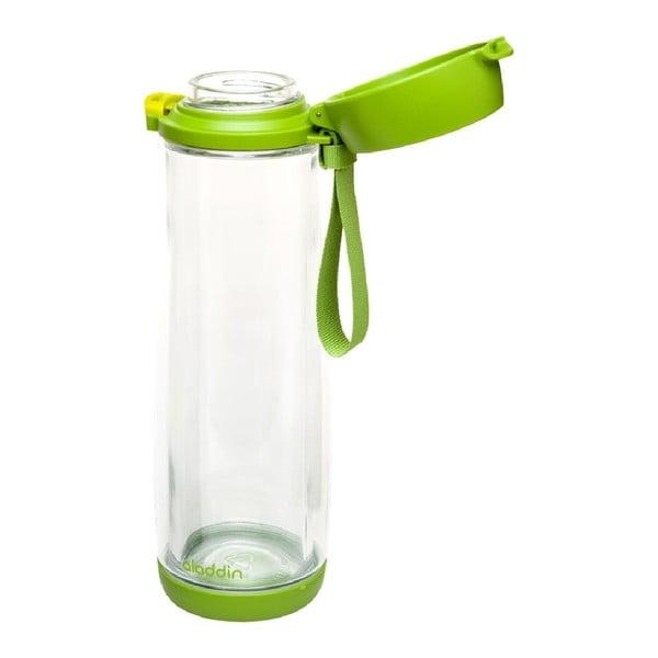 Skleněná láhev Aladdin 0.53 l, zelená