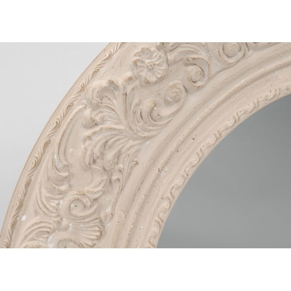 Zrcadlo Cream Round, 100 cm