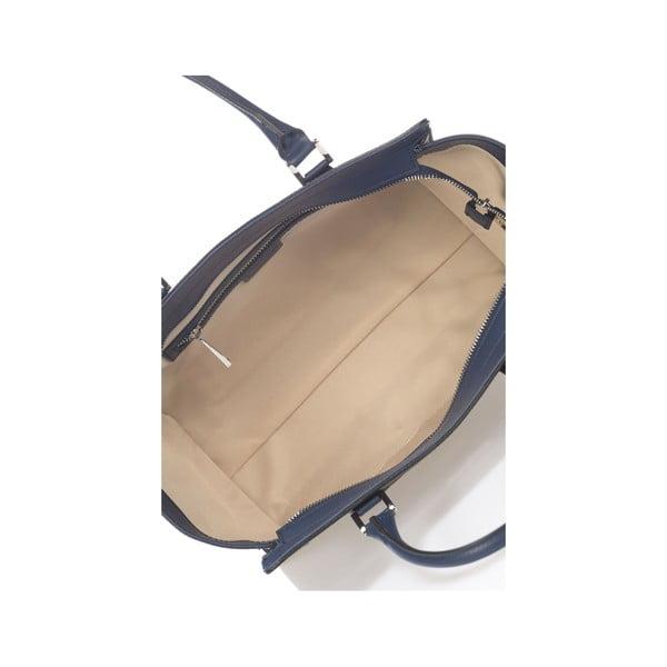 Kožená kabelka Krole Kristen, modrá