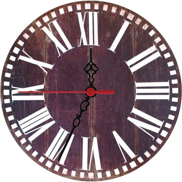 Nástěnné hodiny Wooden, 30 cm