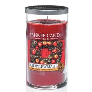 Vonná svíčka Yankee Candle, Věnec z červených jablíček, střední
