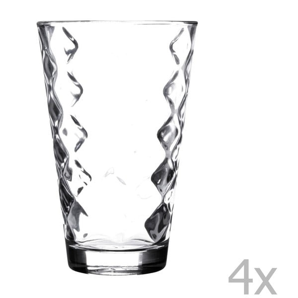 Sada 4 skleniček Essentials Lattice, 300 ml
