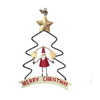 Decorațiune pentru Crăciun G-Bork Santa in Christmastree imagine