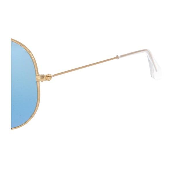 Unisex sluneční brýle Ray-Ban 3025 Blue/Gold 58 mm