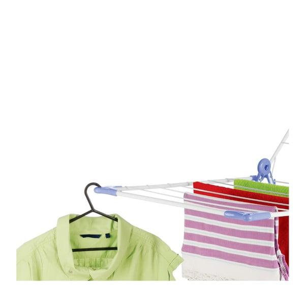 Set sušáku a kolíčků na prádlo Bonita Flora Blue, 24ks