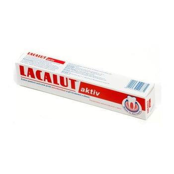 Pastă de dinți Lacalut Aktiv , 3 x 75 ml
