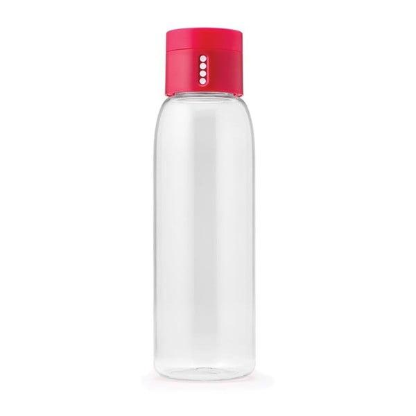 Sticlă cu măsurătoare Joseph Joseph Dot, roz