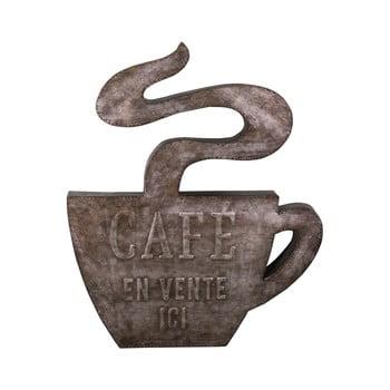 Decorațiune metalică de perete Antic Line Cafe,49x58,5cm