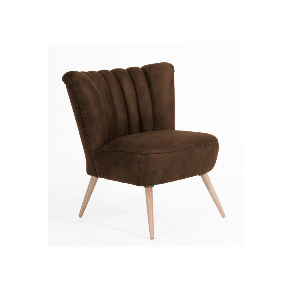 fotoliu max winzer alessandro suede maro deschis bonami. Black Bedroom Furniture Sets. Home Design Ideas