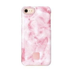 Růžovo-bílý ochranný kryt na telefon pro iPhone 7 a 8 Happy Plugs Slim