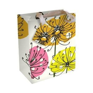 Dárková taška Caroline Gardner Botanical Yellow