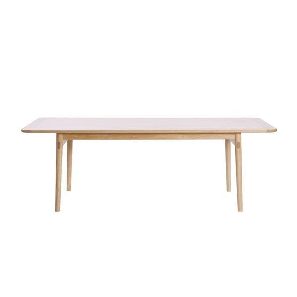 Jídelní stůl z dubového dřeva We47 Havvej, 175x92cm