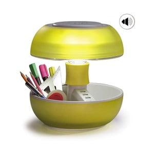 Stolní lampa, nabíječka a reprák v jednom Joyo Light, žlutá