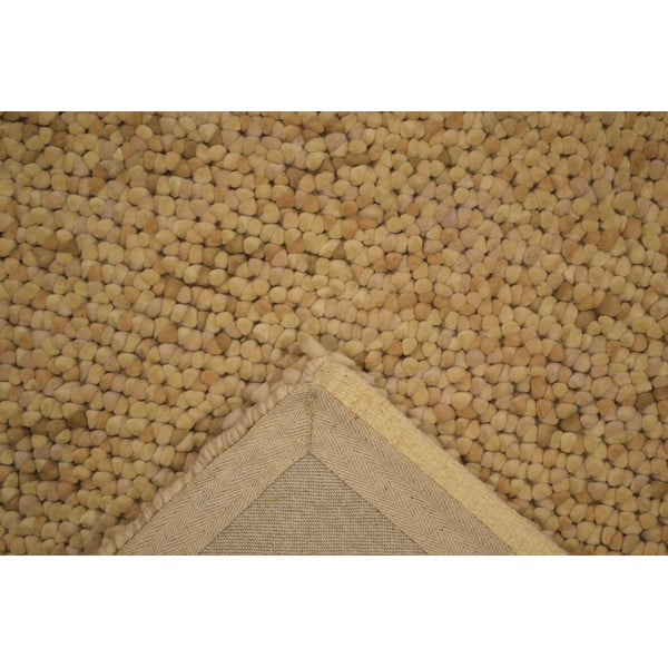 Vlněný koberec Monza Beige, 140x200 cm