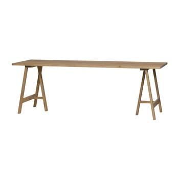 Suport/picioare din lemn de stejar pentru blat masă vtwonen Brace de la vtwonen