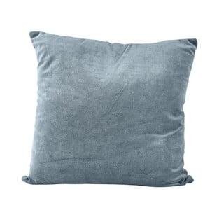 Tmavě modrý polštář se zipem KJ Collection, 23 cm