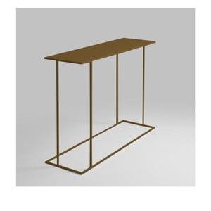 Konzolový stolek ve zlaté barvě Custom Form Walt