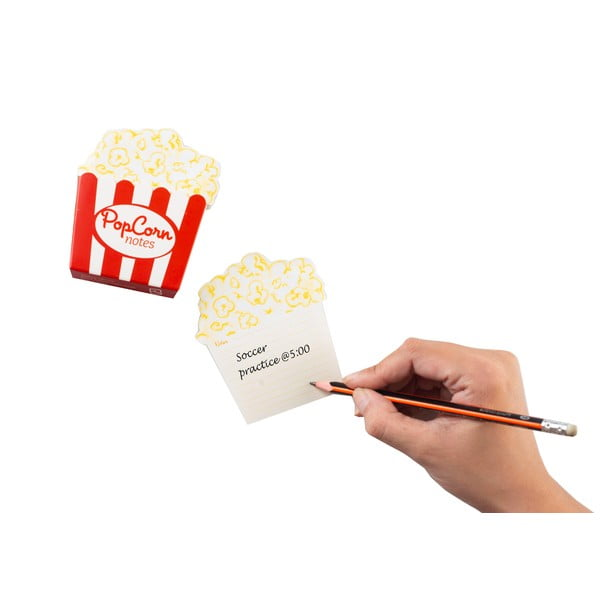 Blocnotes Thinking gifts Popcorn Notes