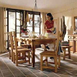 Jídelní stůl SIT z voskované borovice, 170 cm