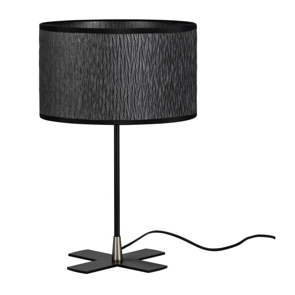 Czarna lampa stołowa Bulb Attack Once