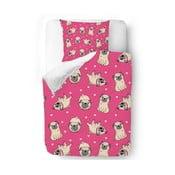Povlečení Pink Pugs, 140x200 cm