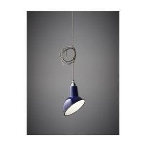 Stínítko Miniature Angled Cloche Midnight Blue