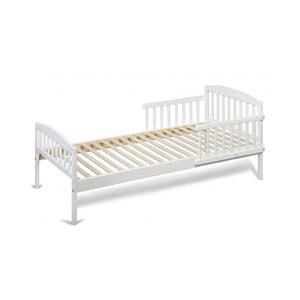 Bílá dětská postel z borovicového dřeva YappyKids Classic