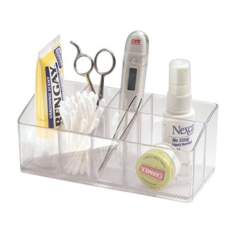 Organizator transparent iDesign Med imagine